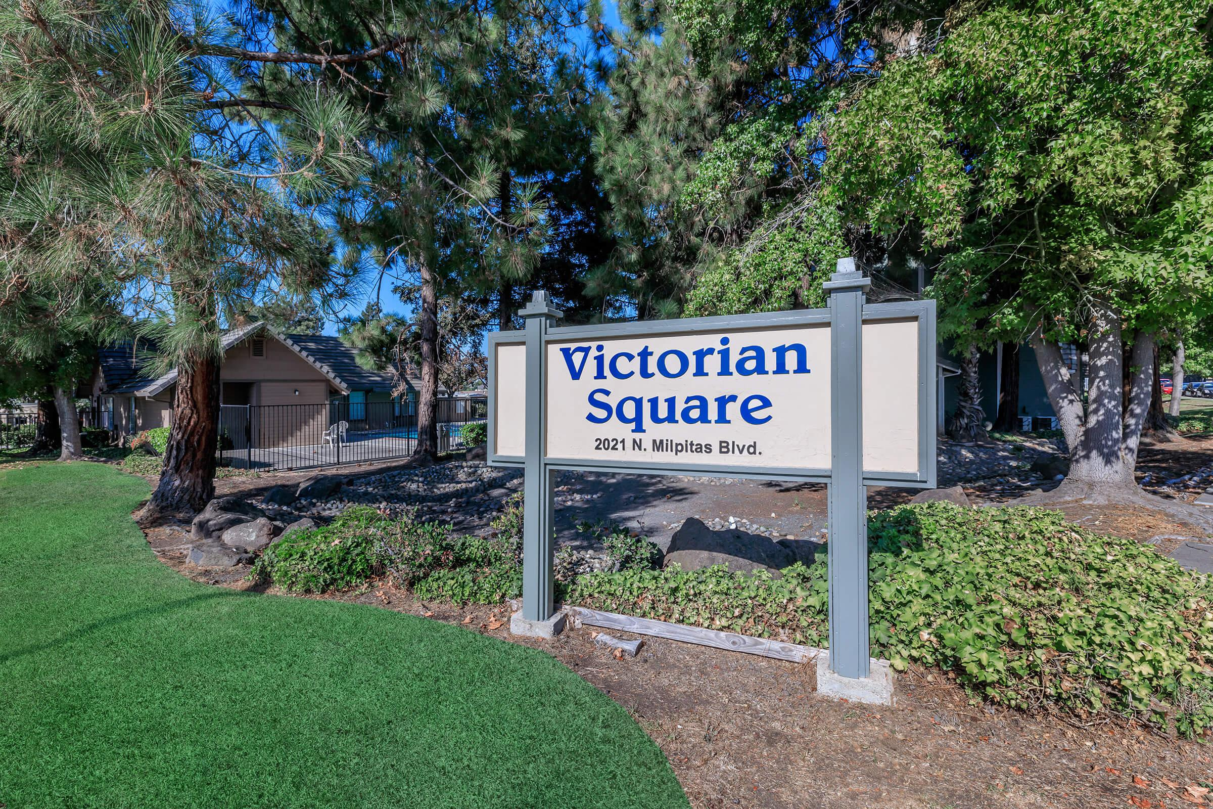 Landscaping at Victorian Square in Milpitas CA