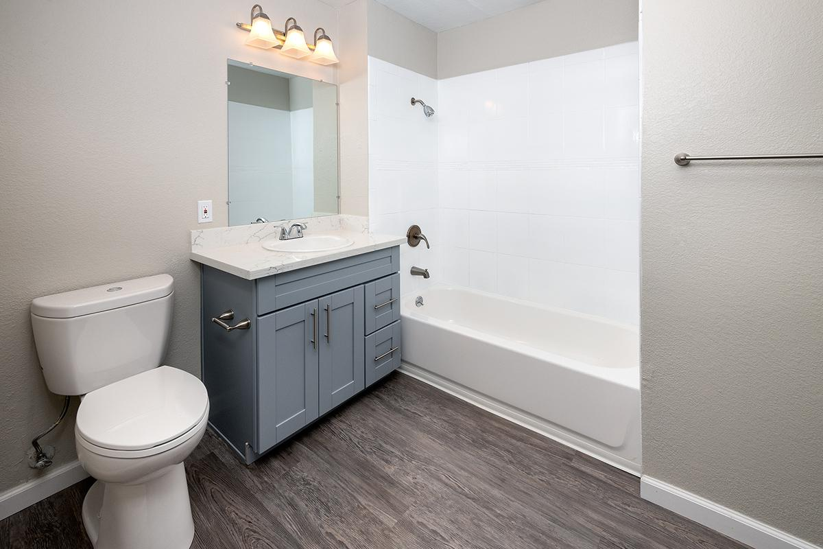 Bathroom at Victorian Square in Milpitas CA