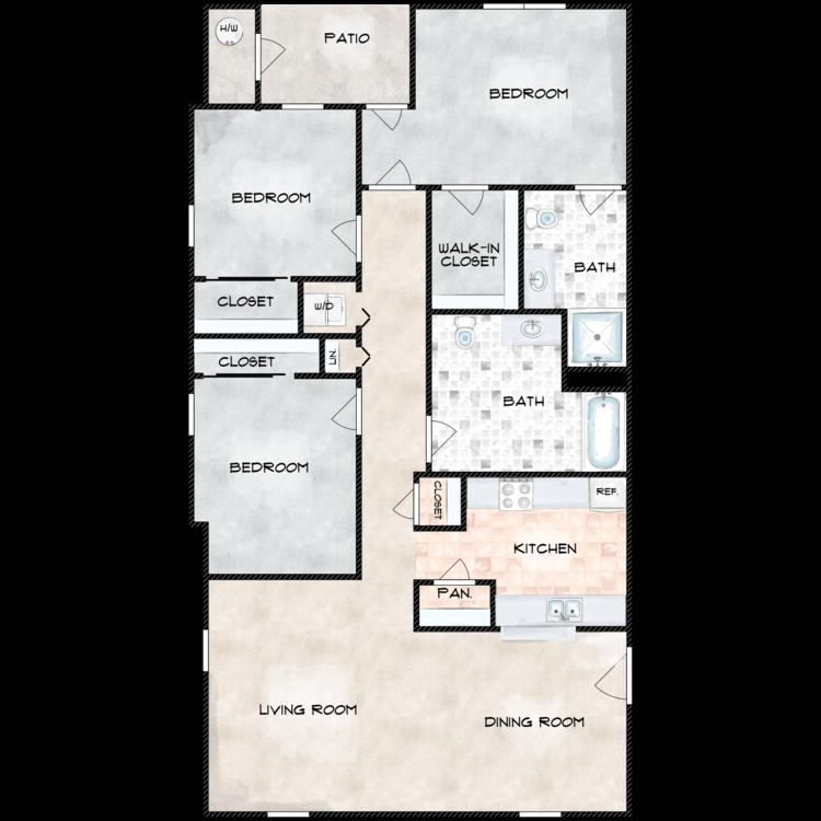 Floor plan image of Sequoia