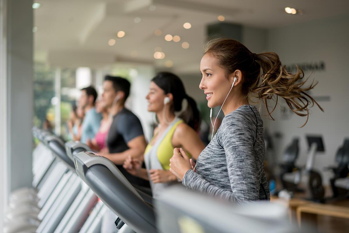 Fitness Center at ParkLafayettein Lafayette CA