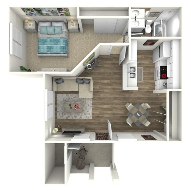 Floor plan image of Brigitine