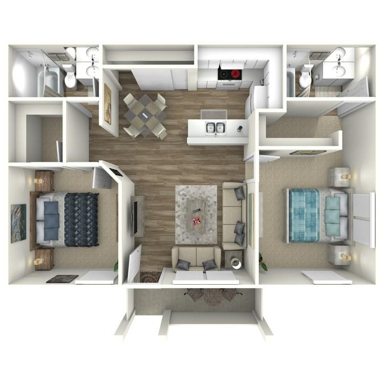 Floor plan image of Windjammer