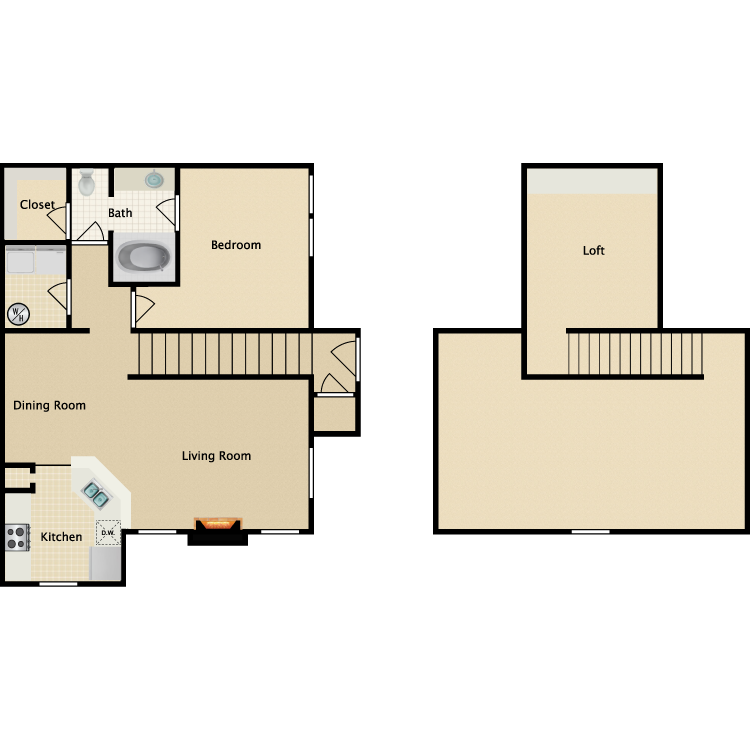 Floor plan image of Pinehurst