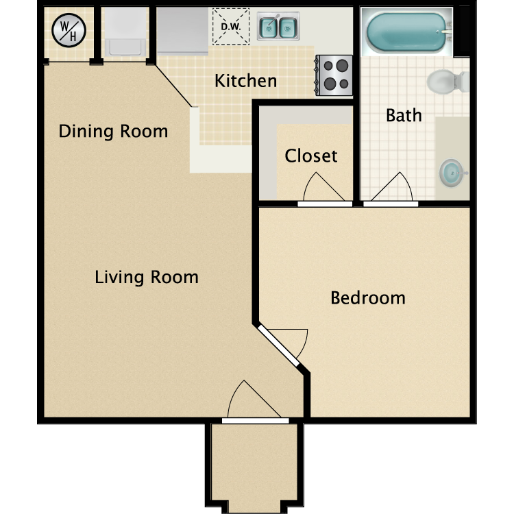 Floor plan image of Riviera