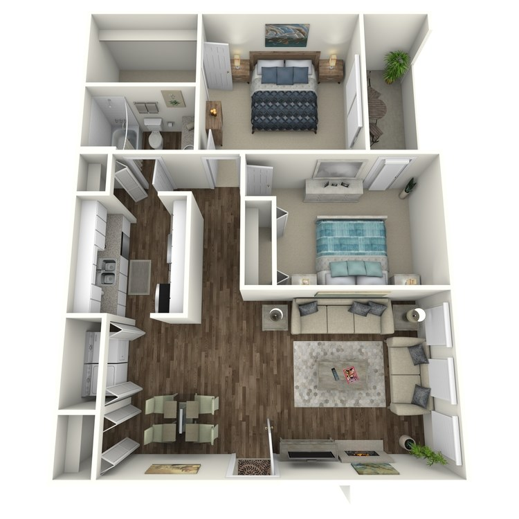 Floor plan image of English Oak