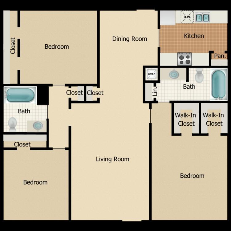 N3 floor plan image