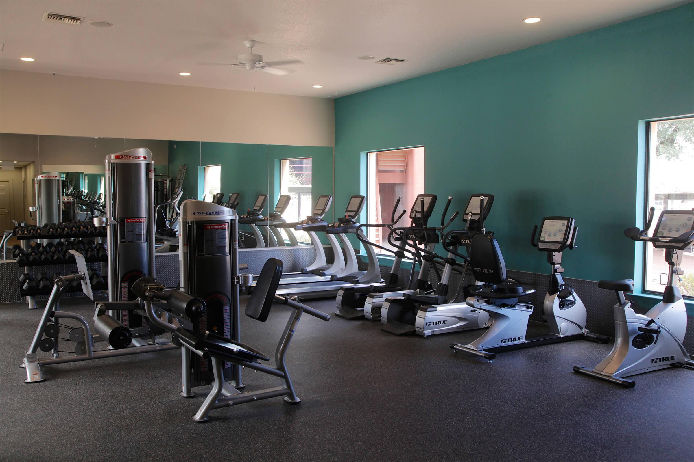 OUR STATE-OF-THE-ART FITNESS CENTER AWAITS