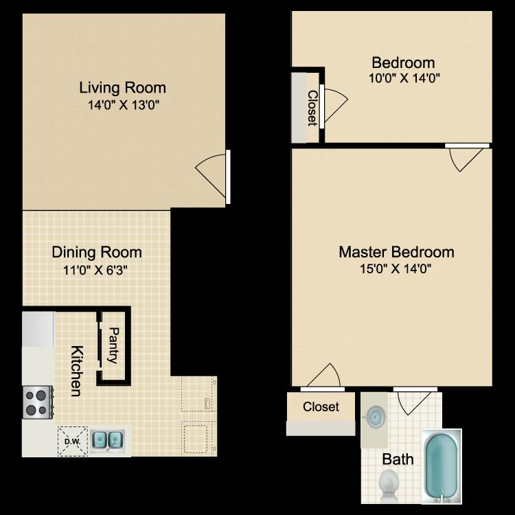Floor plan image of Catania