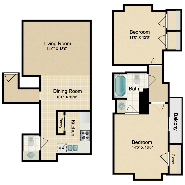 Floor plan image of Madrid - G