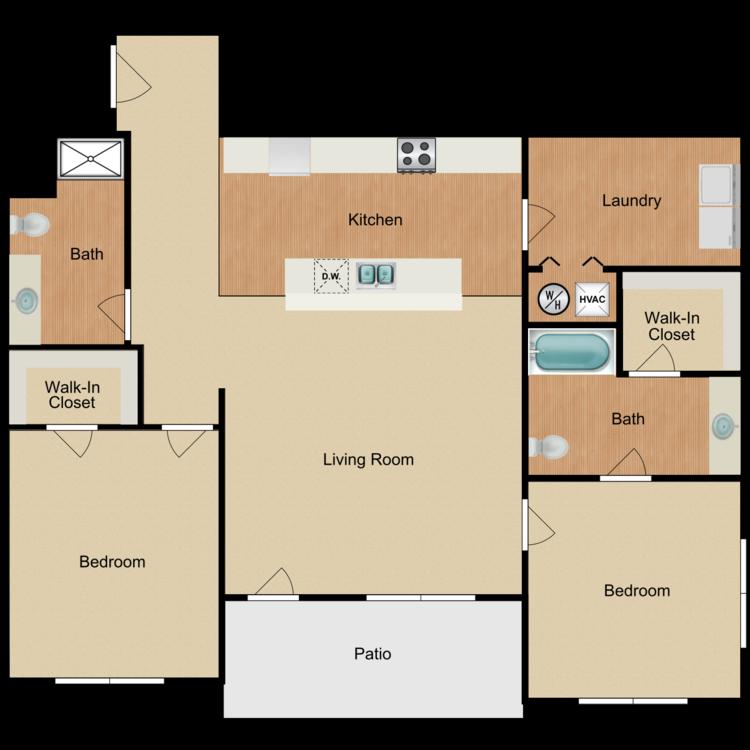 Floor plan image of The Riverside