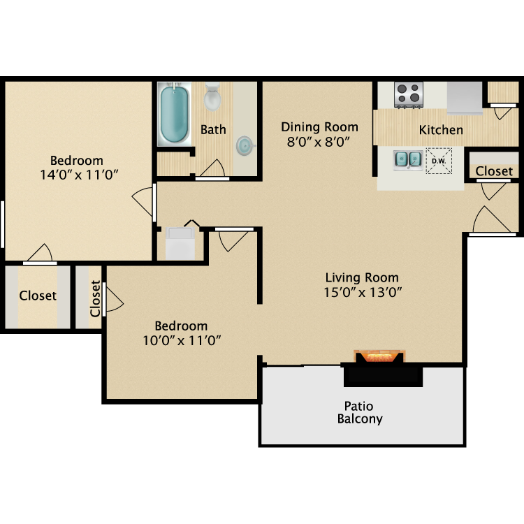 Floor plan image of Topaz