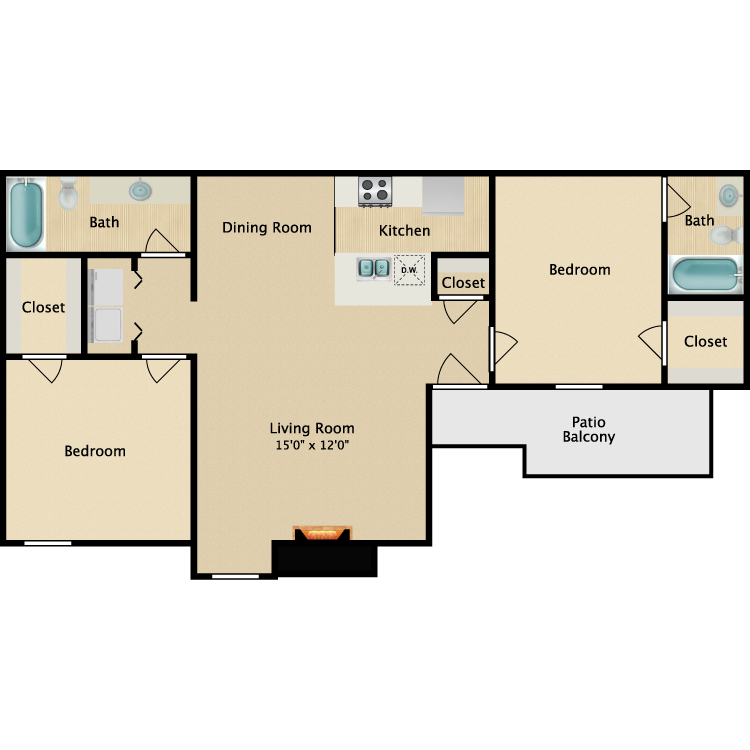Floor plan image of Emerald