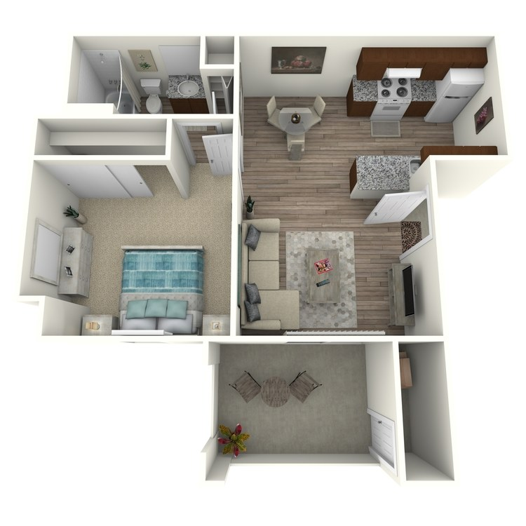 A floor plan image