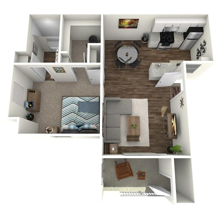 B floor plan image