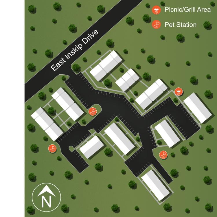 Knox Landing Sitemap