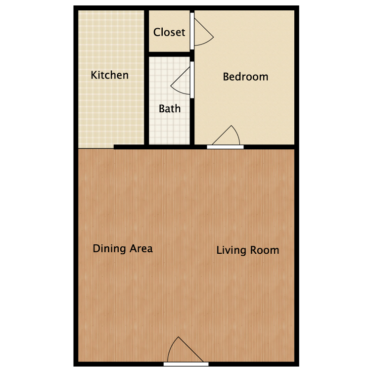 Floor plan image of The Kirby