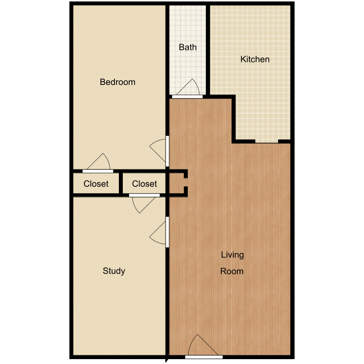 Floor plan image of The Jerri