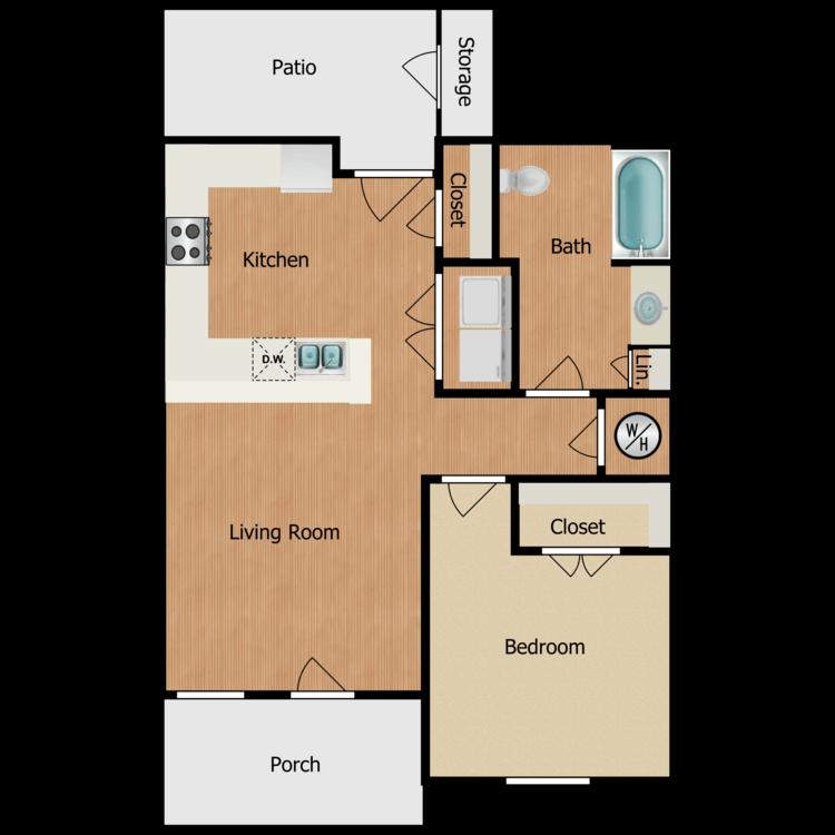 Floor plan image of 3C-1B1B