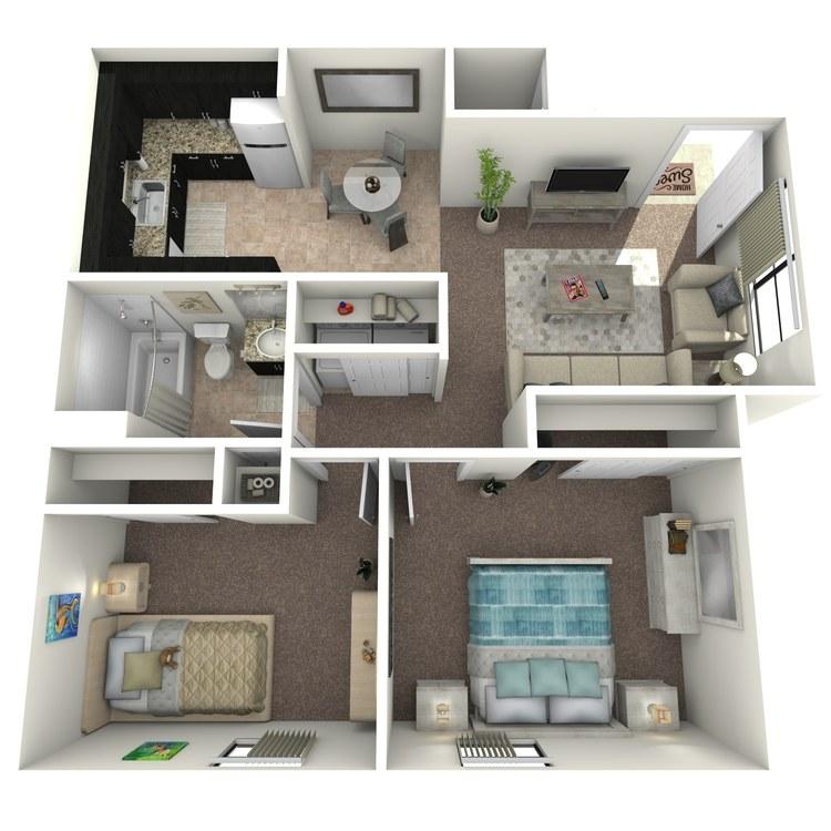 Floor plan image of Briar Premium