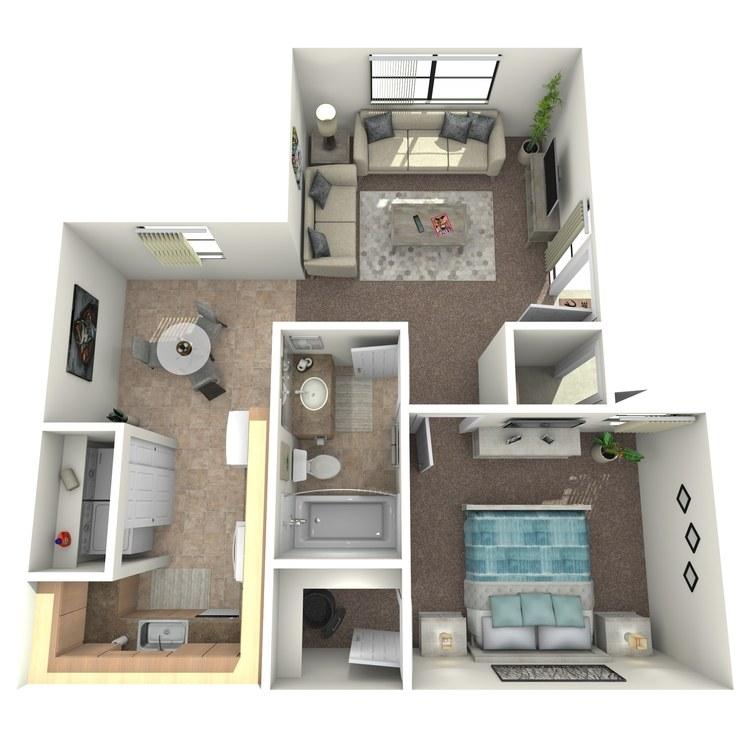 Floor plan image of Dahlia Upgraded