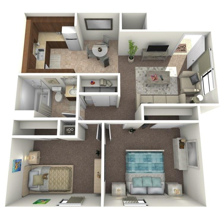 Floor plan image of Briar Classic