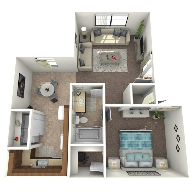 Floor plan image of Dahlia Classic