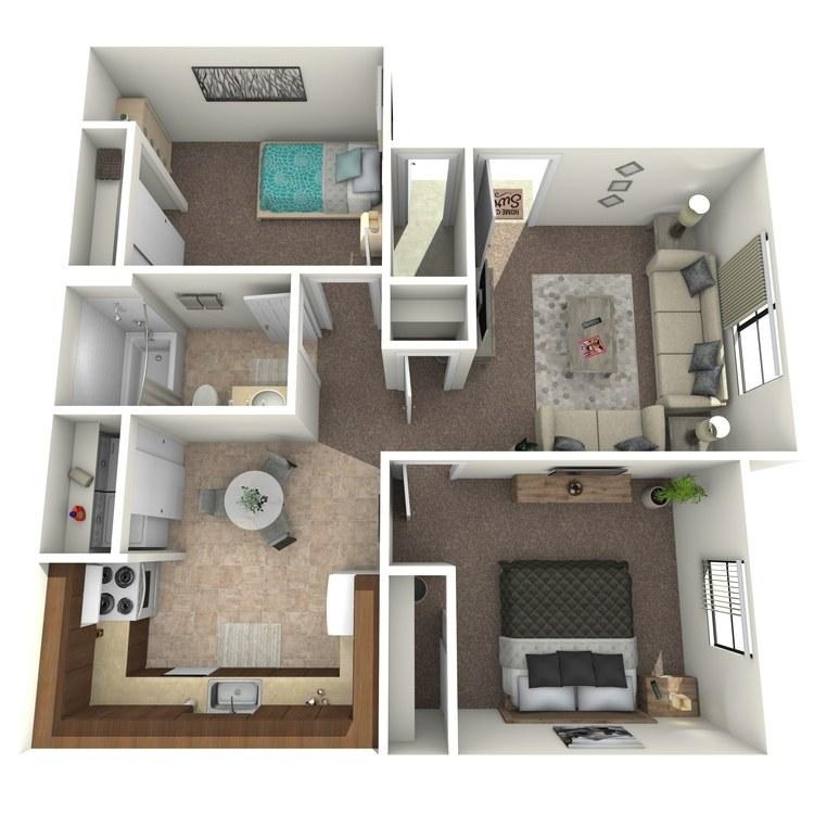 Floor plan image of Cactus Classic
