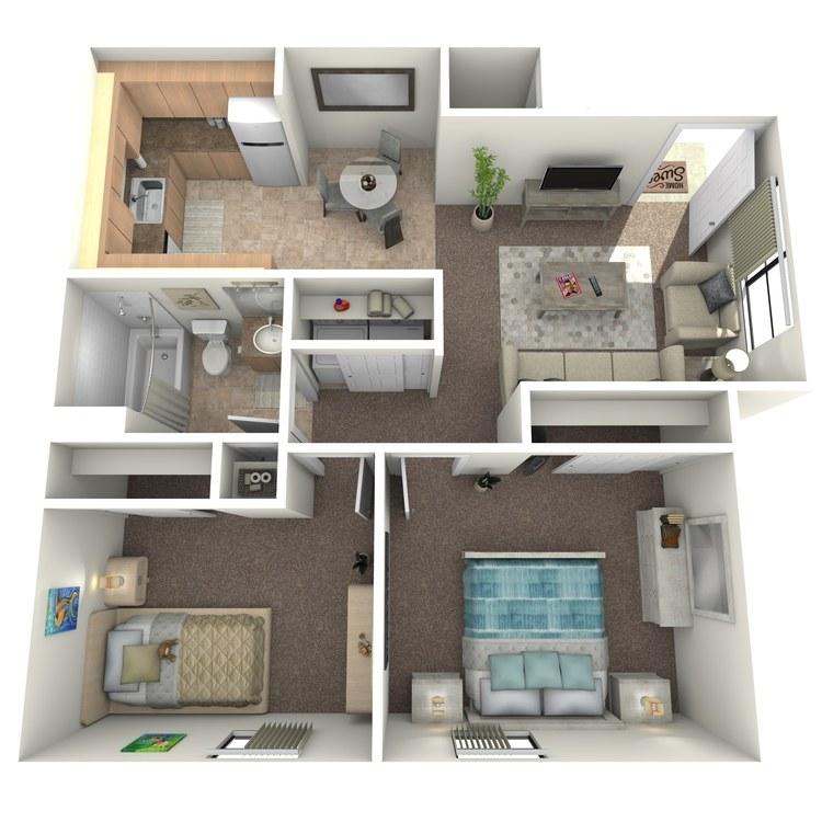 Floor plan image of Briar Upgraded