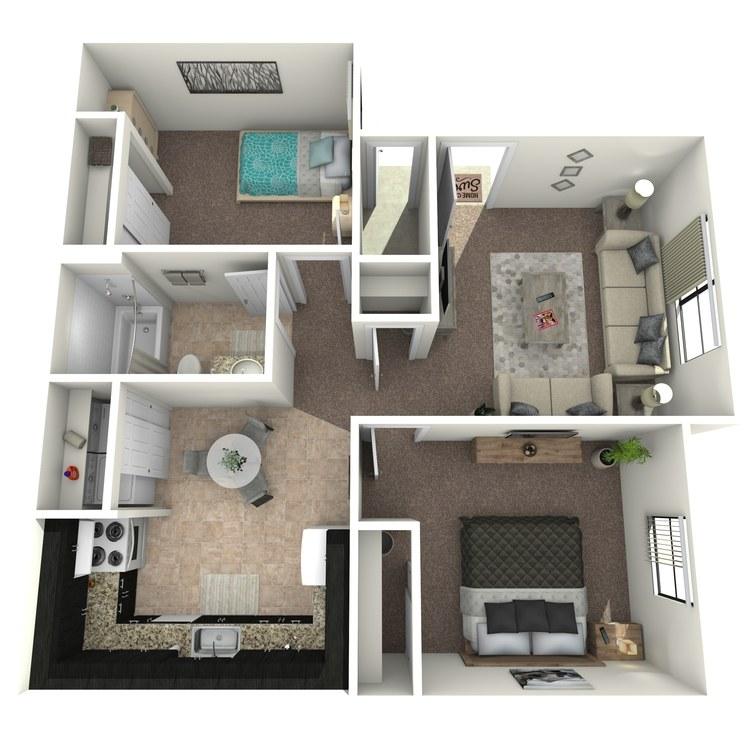 Floor plan image of Cactus Premium