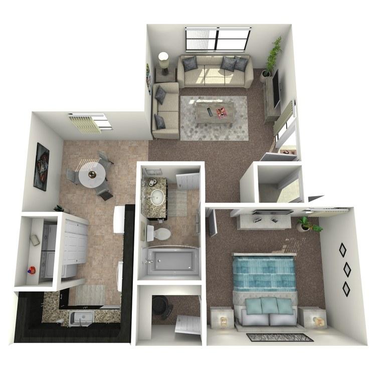 Floor plan image of Dahlia Premium