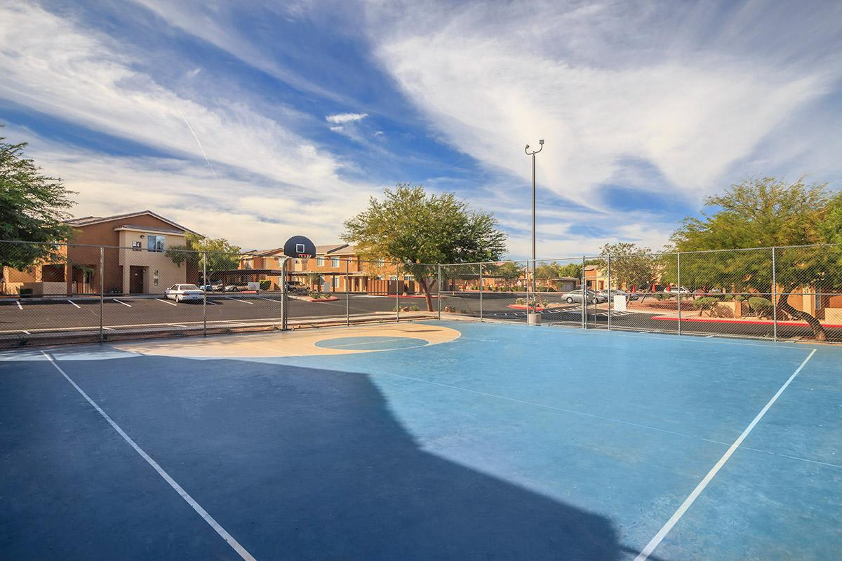 BASKETBALL COURT AT SIENA TOWNHOMES IN LAS VEGAS, NEVADA