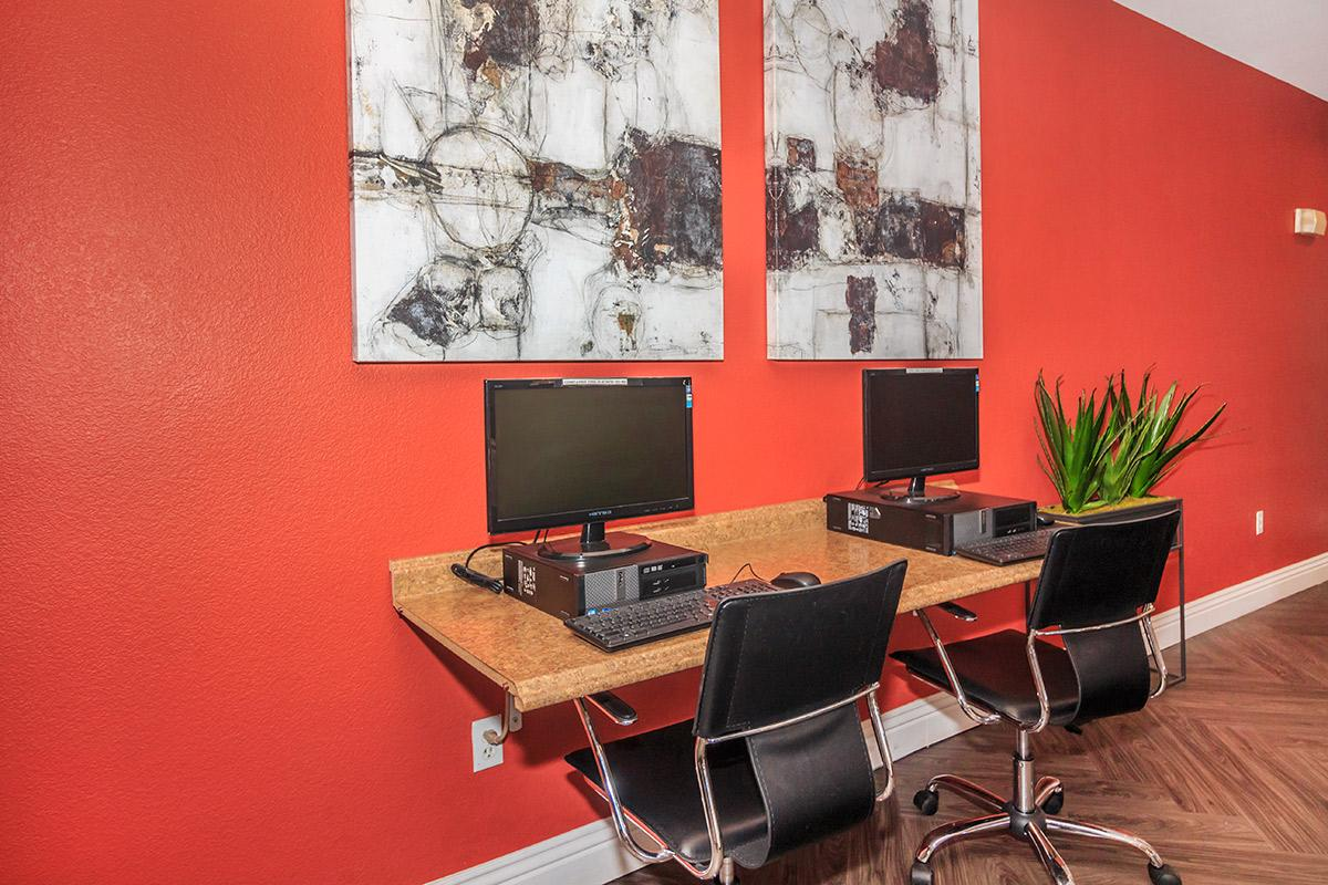 BUSINESS CENTER AT SIENA TOWNHOMES IN LAS VEGAS, NEVADA