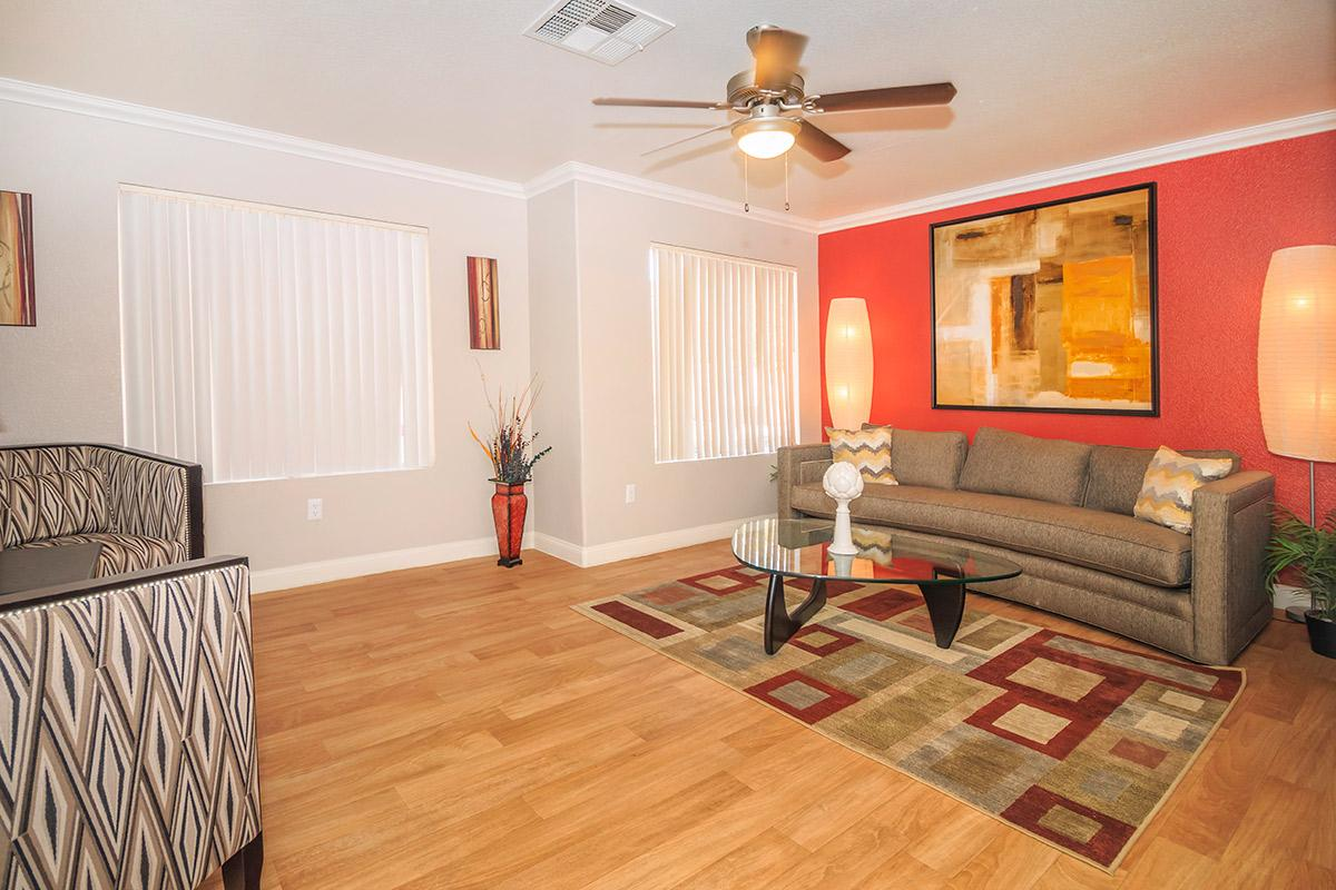 Siena townhomes provides ceiling fans