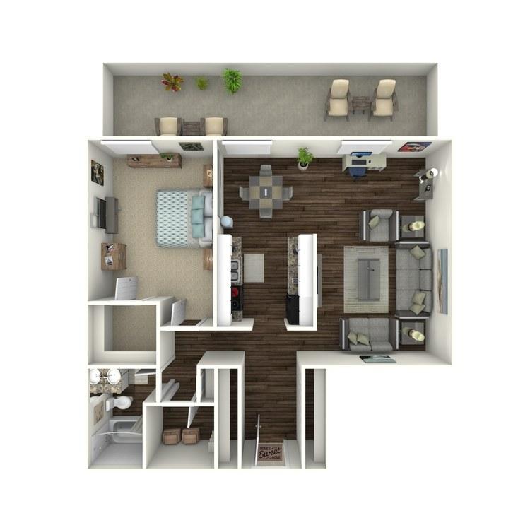 Floor plan image of Urban