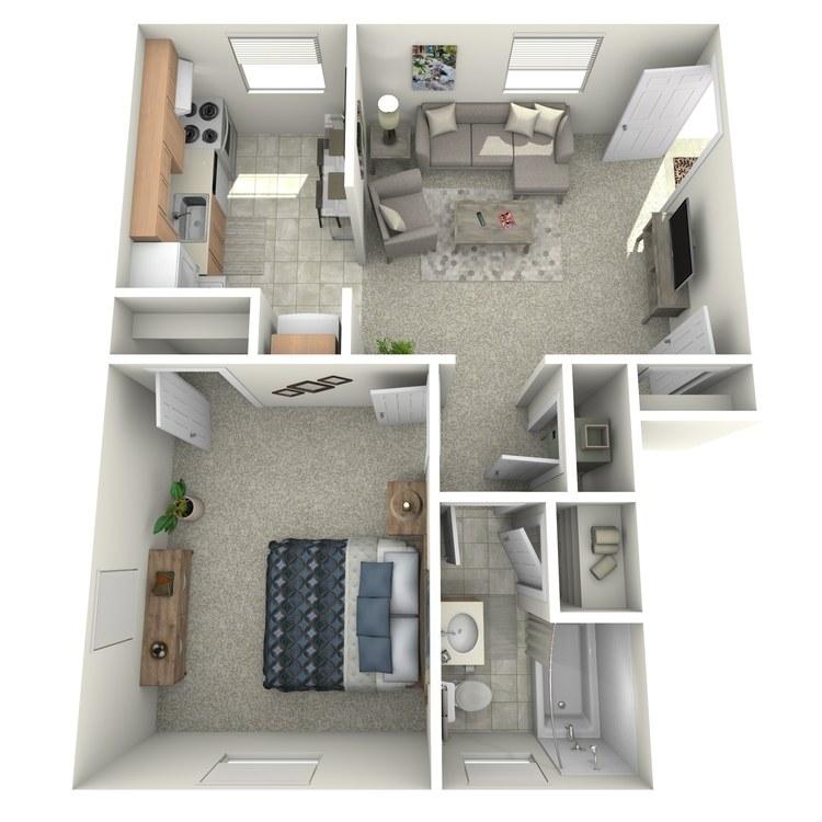 Floor plan image of The Chestnut