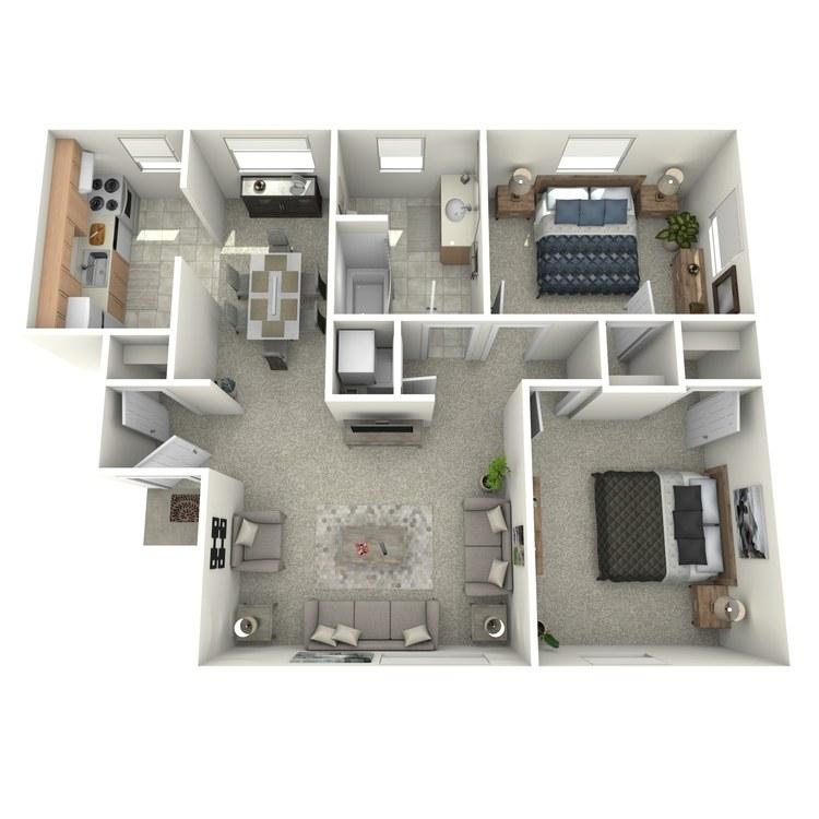 Floor plan image of The Ash