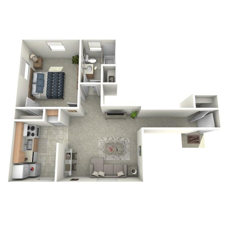 Floor plan image of The Cedar