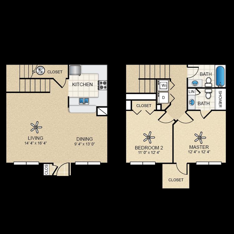 Floor plan image of Cottonwood