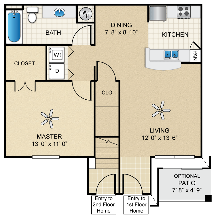 Floor plan image of Mimosa
