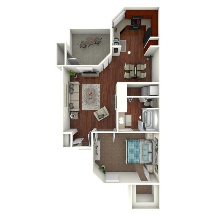 Floor plan image of W1