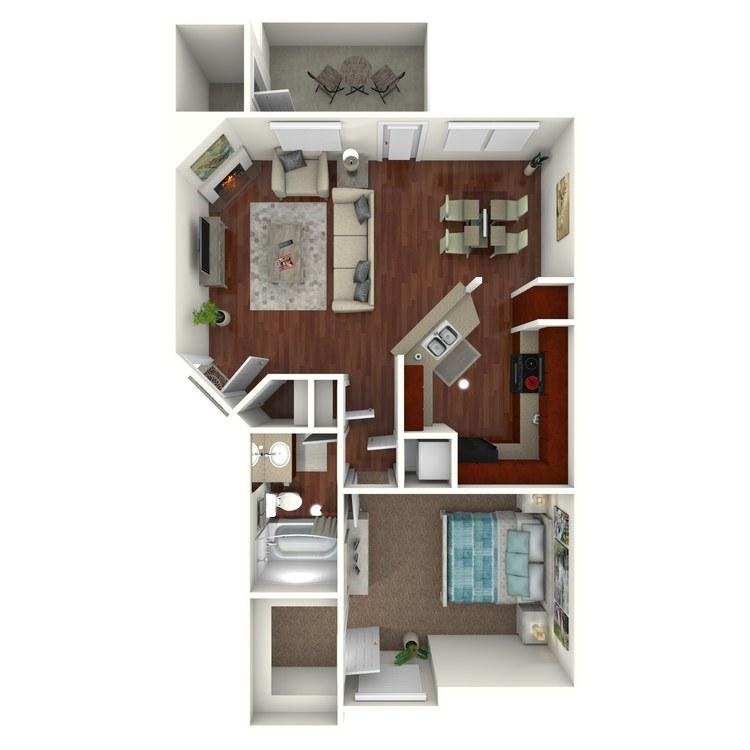 Floor plan image of W3