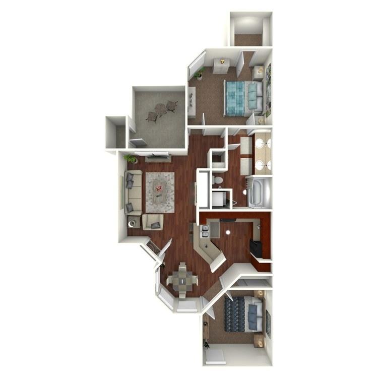 Floor plan image of W4