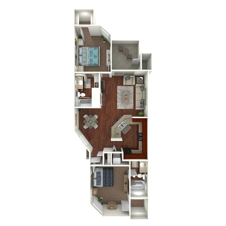 Floor plan image of W6