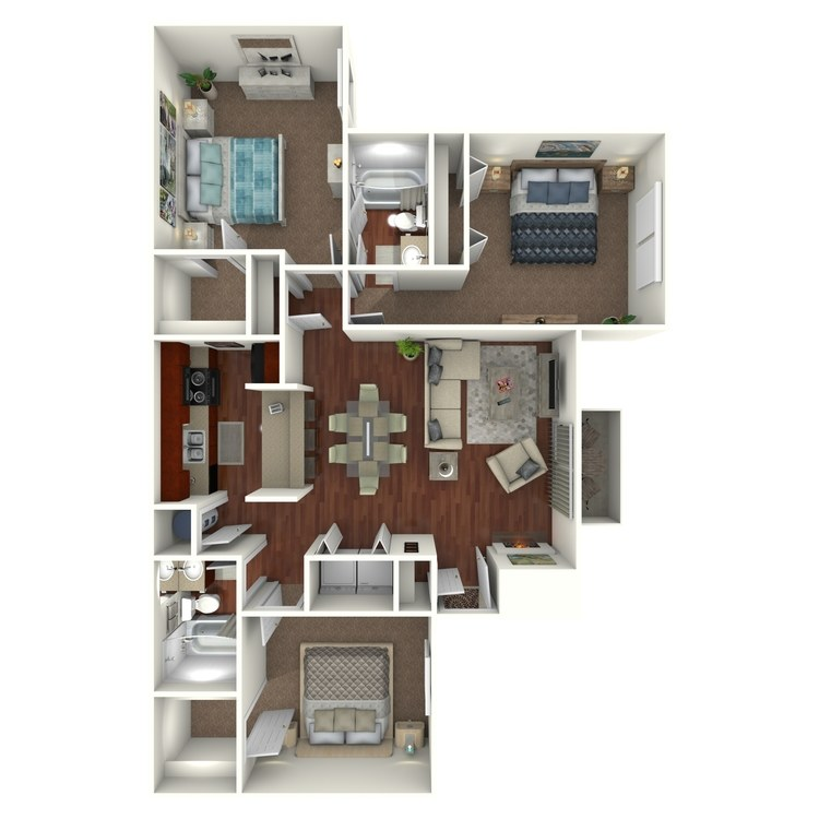 Floor plan image of C4