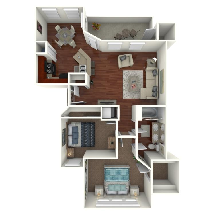 Floor plan image of B2-WC