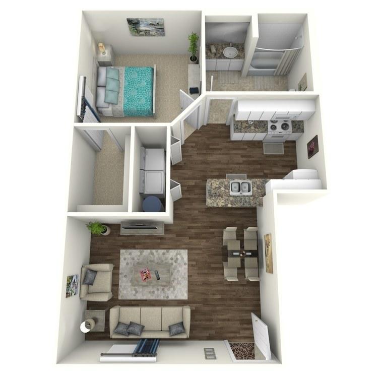Floor plan image of Willow Dells B