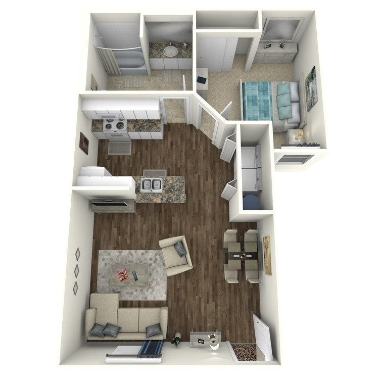 Floor plan image of Willow Dells A
