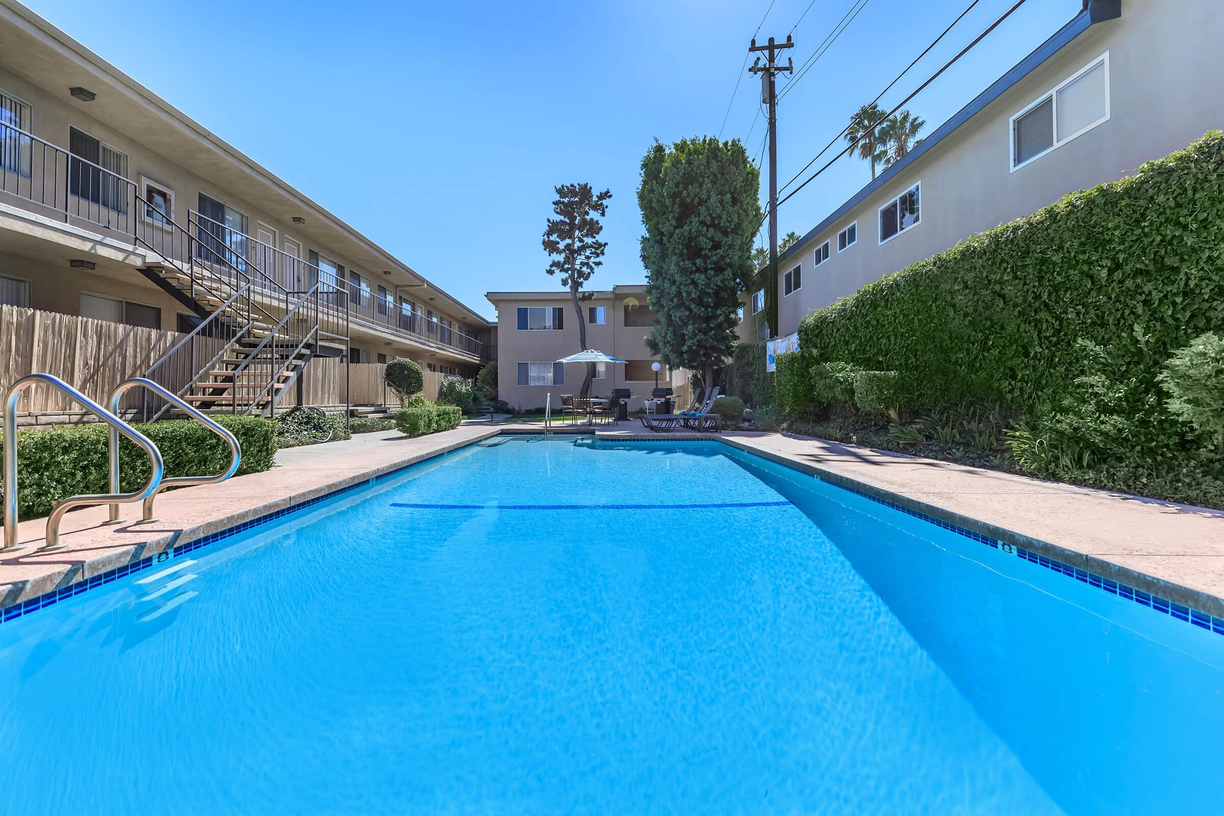 Emerald West Apartments community pool
