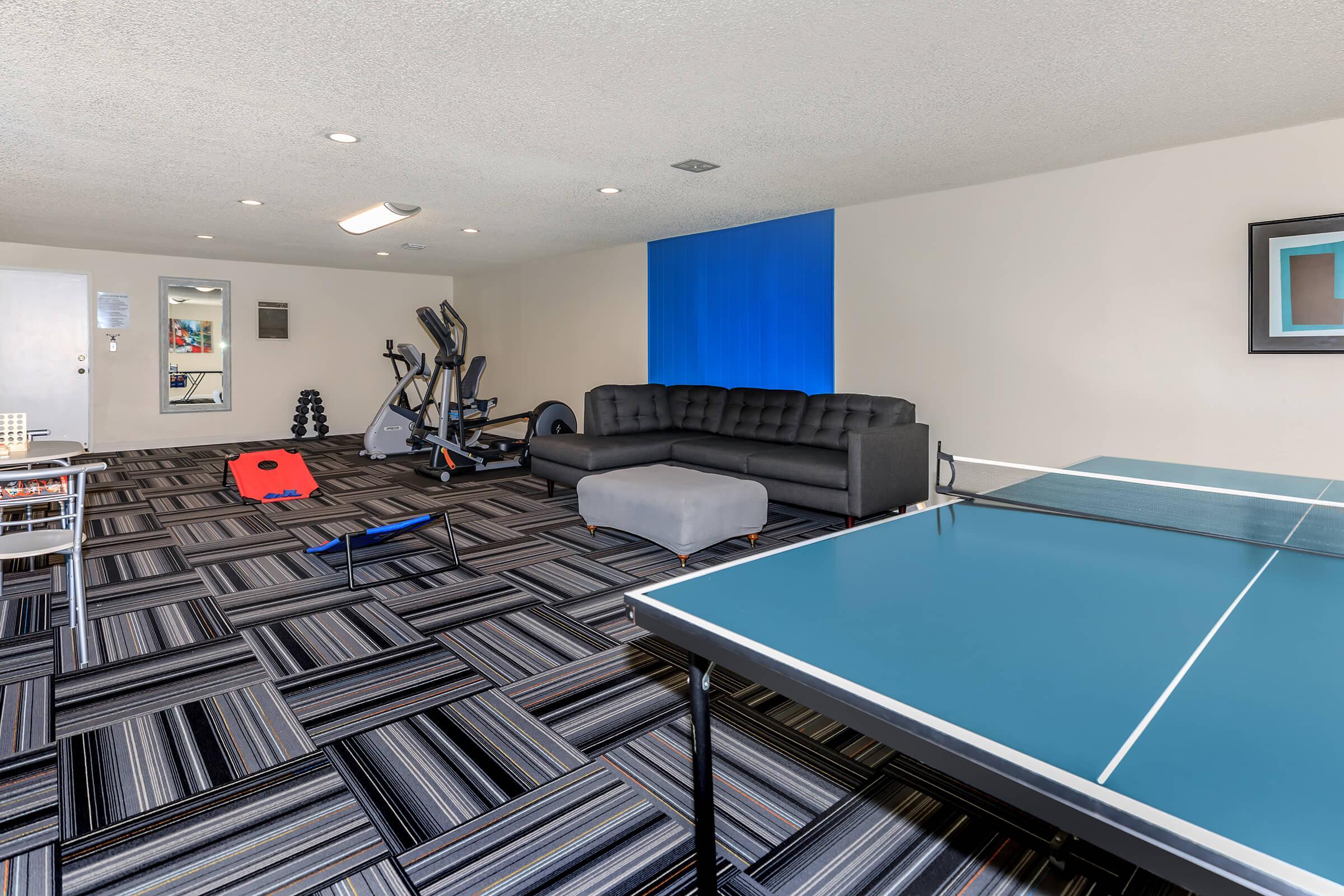 Emerald West Apartments community room