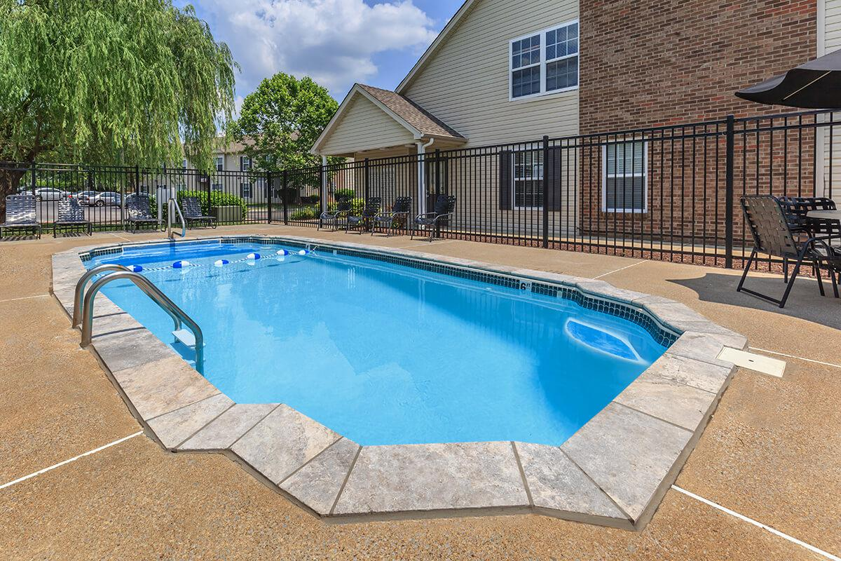 The Swimming Pool at Green Meadows Apartments